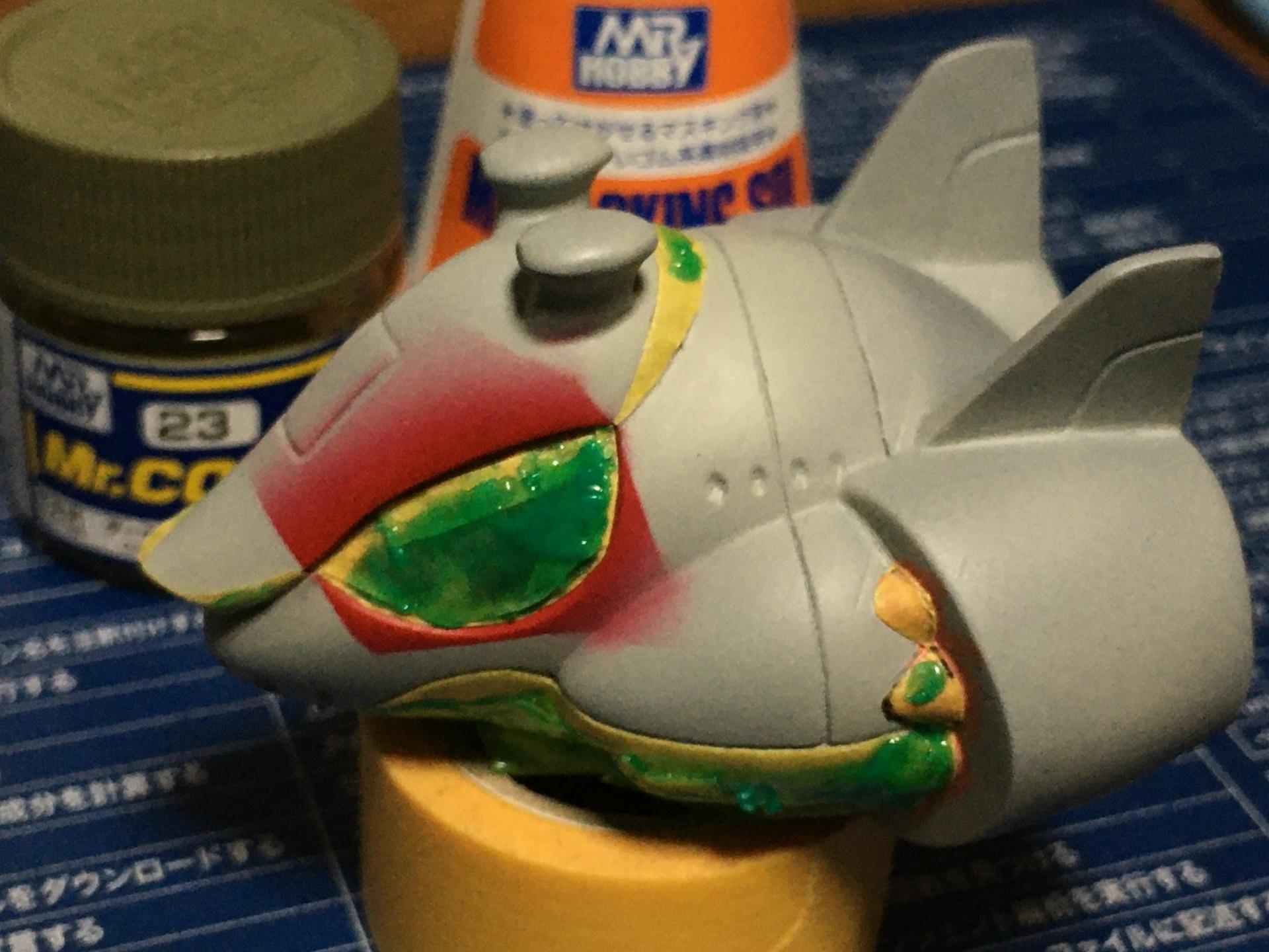 SDマッドアングラー 塗装中1.JPG